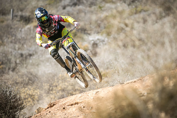 South African Downhill specialist, Andrew Neethling and his team at Helderberg Trails are happy with the upgrades to the courses ahead of the SA National DHI Cup Series at Helderberg Farms on Sunday 28 February. Photo: Chris Hitchcock